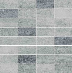 Floorwood grey-graphite mix mosaic 29x29,5