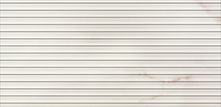 Carrara white inserto stripes 29x59,3