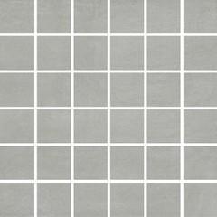 Concrete flower dark grey mosaic 29,7x29,7