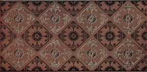 Solar brown border 14,8x30
