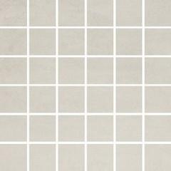 Concrete flower light grey mosaic 29,7x29,7