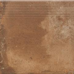 Dlažba Piatto Terra Schod. Přímá 30X30X0,9