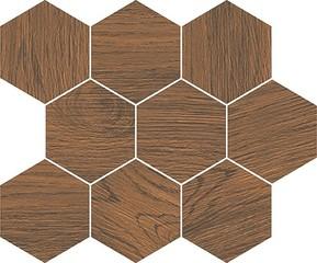 Finwood ochra mosaic hexagon 28x33,7