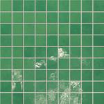 Majolika zelená mozaika 14 30,1x30,1