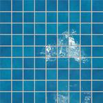 Majolika sv.modrá mozaika 17 30,1x30,1