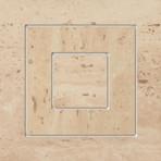 Travertine roh 1P 14,8x14,8