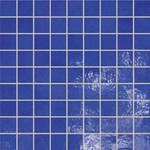 Majolika modrá mozaika 15 30,1x30,1