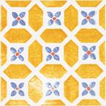 Majolika oranžová inzerto avignon 12 20x20