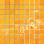 Majolika oranžová mozaika 12 30,1x30,1