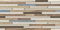 DDPSE467 Board tyrkysová-mix dekor 29,8x59,8x1