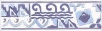 WLAED110 Lucie modrá listela 20x6,1x0,68