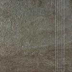 DCP3B694 Como hnědo-černá schodovka 33,3x33,3x0,8