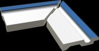 XPA56005 Pool bílá/tm.modrá Finnland vněj. roh 23,8x11,5