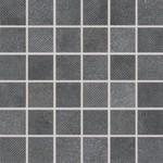 DDR05697 Form tmavě šedá mozaika 4,8x4,8x0,8 30x30