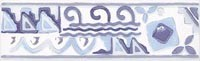 WLAED114 Lucie modrá listela 20x6,1x0,68