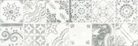 WARVE147 Majolika šedá obkládačka dekor 19,8x59,8x1