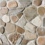 DAR3B702 Pebbles béžovo-šedá dlaždice 33,3x33,3x0,8
