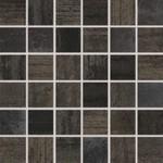 WDM06523 Rush černá mozaika set 30x30 4,8x4,8x1
