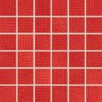 WDM05093 Trinity červená mozaika 4,8x4,8x0,7 30x30