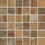 WDM06519 Rush měděná mozaika set 30x30 4,8x4,8x1