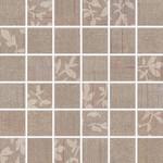 WDM05103 Textile hnědá mix mozaika 4,7x4,7x0,7 30x30