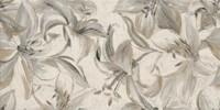 Domus beige inserto flower 30x60