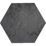 Semir grafit heksagon 26x26