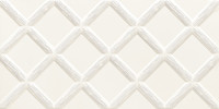 Dekor Burano white 30,8x60,8