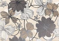 Dekor Opium flower 25x36