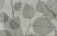 Lussi light grey inserto leaf A 25x40