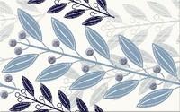 Lunia white inserto leaves 25x40