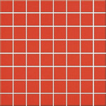 Inwencja red mosaic 20x20
