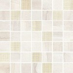Simple stone beige mosaic 25x24,86