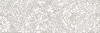 White inserto flower 25x75