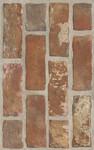 Loft brown sciana struktura brick 25x40