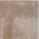 Dlažba Piatto Sand Schod. Roh 30X30X0,9