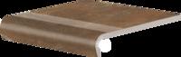 Dlažba Piatto Red Schod.V-Shape 32X30/5X0,9